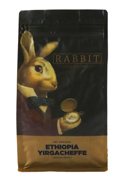 Ethiopia Yirgacheffe, 100% Arabica Coffee, Medium Roast, Whole Bean Coffee