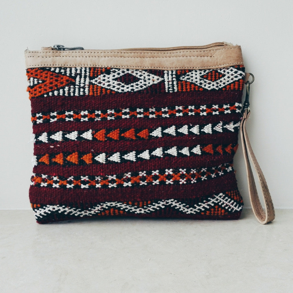 Handcrafted Berber Clutch - Bahia Cosmetics - 4