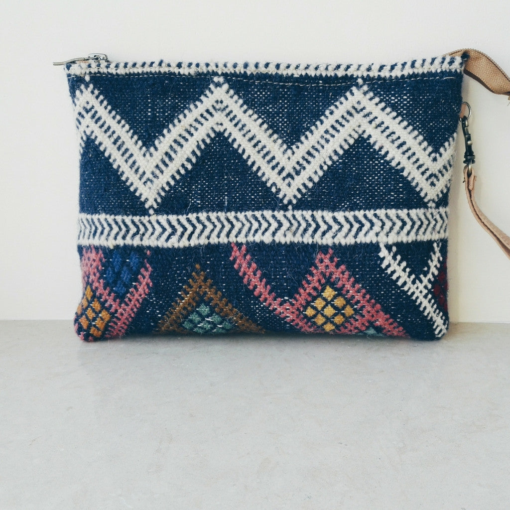 Handcrafted Berber Clutch - Bahia Cosmetics - 5