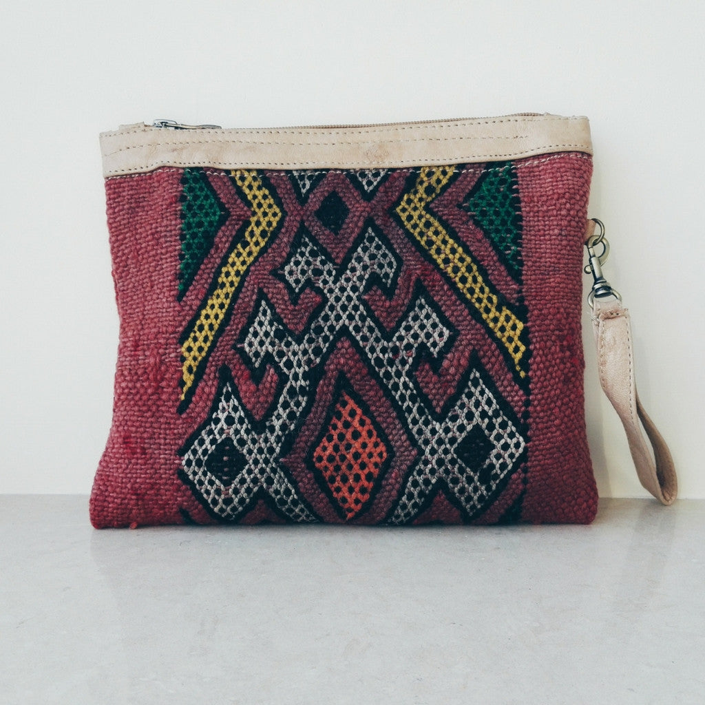 Handcrafted Berber Clutch - Bahia Cosmetics - 7