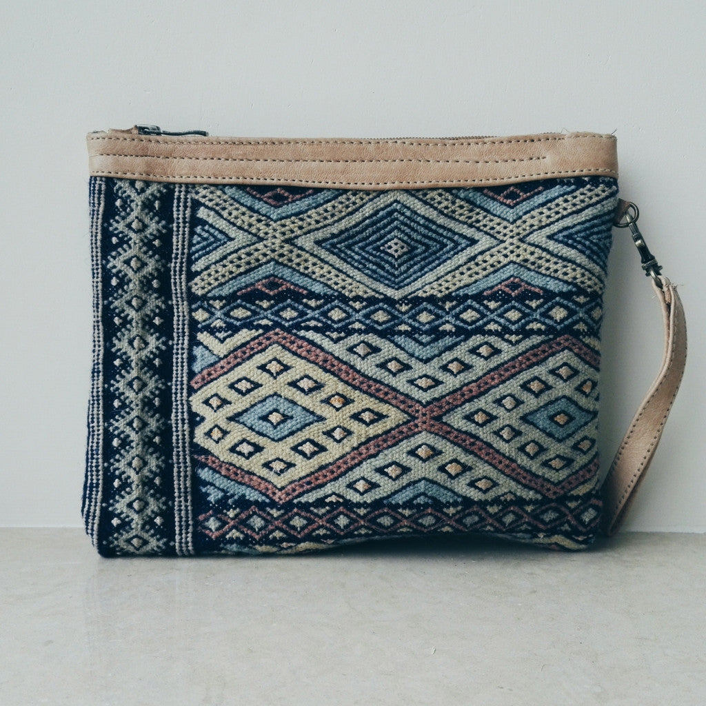 Handcrafted Berber Clutch - Bahia Cosmetics - 6