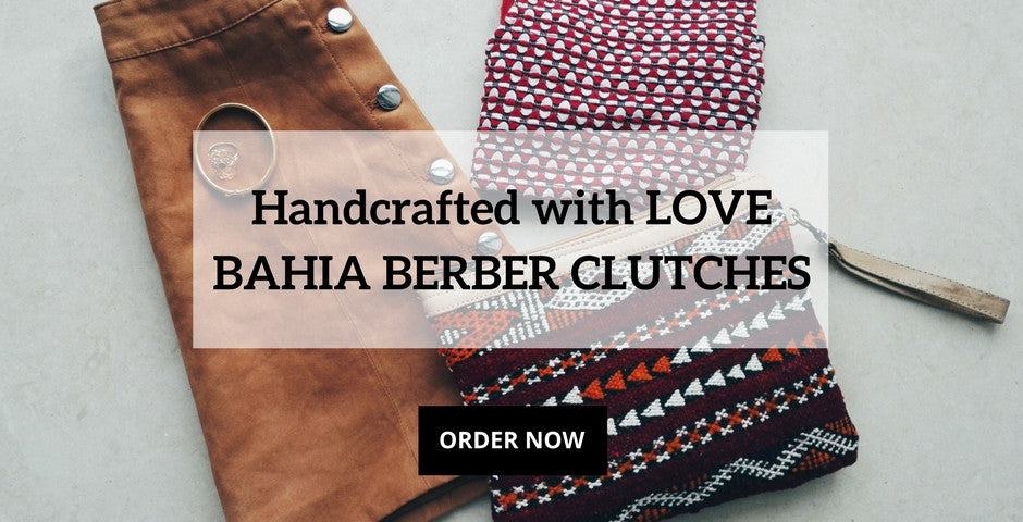 Bahia Handcrafted Berber Clucthes