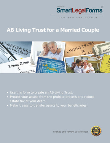 A/B Living Trust for a Married Couple - SmartLegalForms