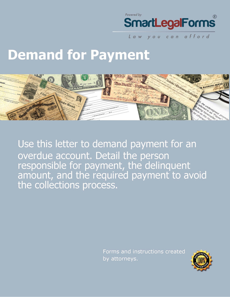 Demand for Payment - SmartLegalForms