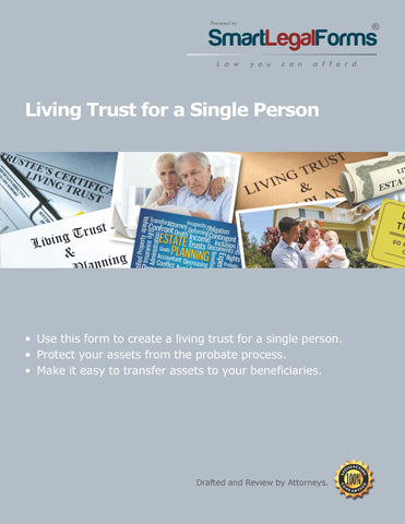 Living Trust for a Single Person - SmartLegalForms