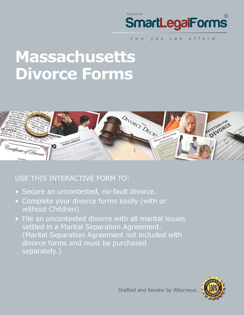 Massachusetts Divorce Forms - SmartLegalForms