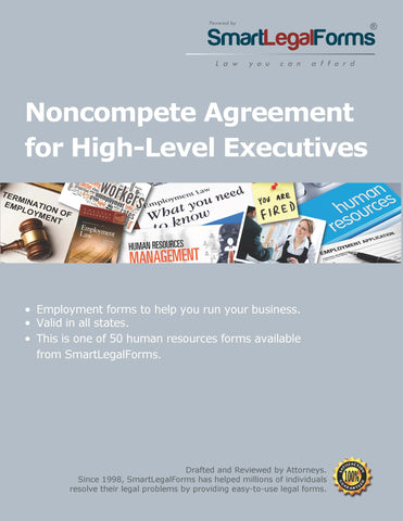 Noncompete Agreement for Business Managers - SmartLegalForms