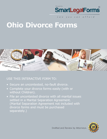Ohio Divorce Forms (Franklin County) - SmartLegalForms