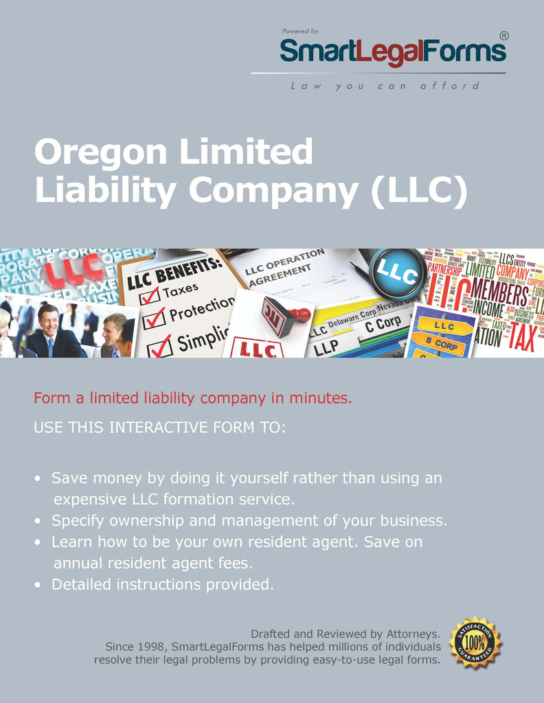 Articles of Organization (LLC) - Oregon - SmartLegalForms