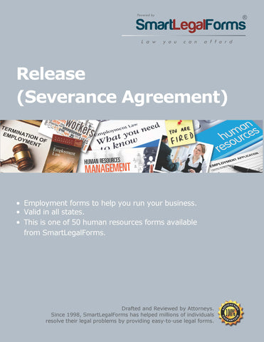 Release (Severance Agreement) - SmartLegalForms