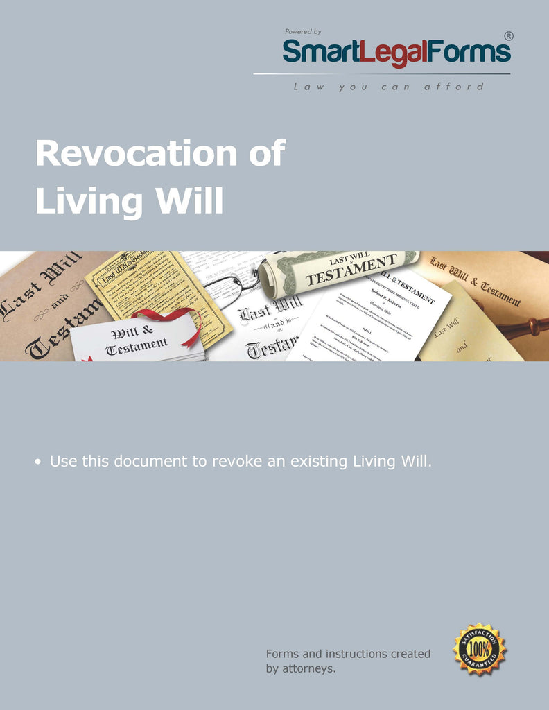 Revocation of Living Will - SmartLegalForms