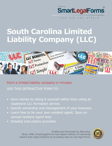 Articles of Organization (LLC) - South Carolina - SmartLegalForms