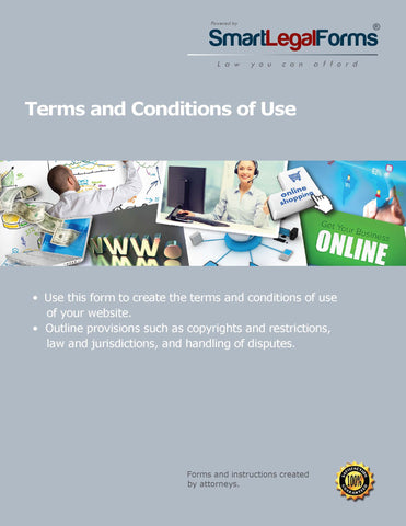 Terms and Conditions Statement for a Consumer Web Site - SmartLegalForms