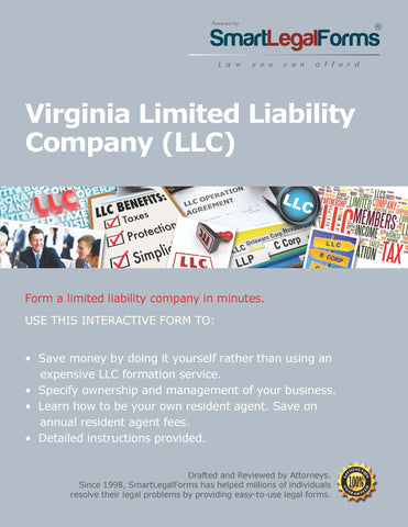 Articles of Organization (LLC) - Virginia - SmartLegalForms