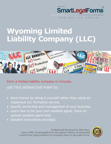Articles of Organization (LLC) - Wyoming - SmartLegalForms