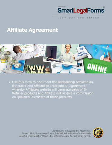 Affiliate Agreement - SmartLegalForms