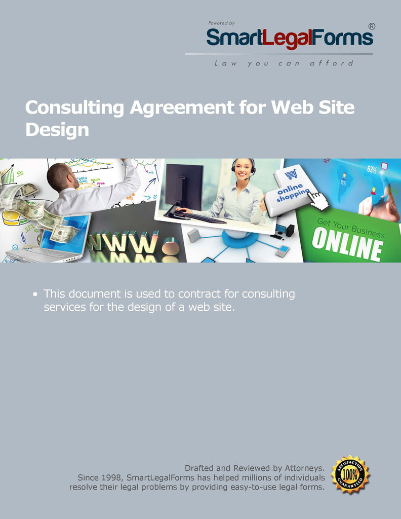 Consulting Agreement for Web Site Design - SmartLegalForms