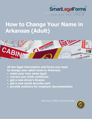 Change Your Name in Arkansas (Adult) - SmartLegalForms