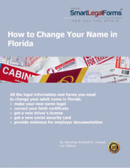 Change Your Name in Florida (Adult) - SmartLegalForms