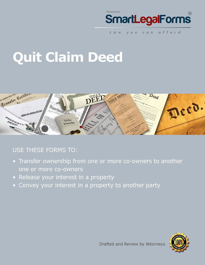 Quitclaim Deed - Texas - SmartLegalForms
