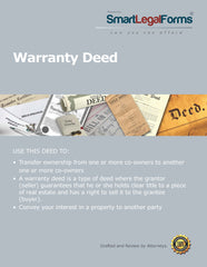 Warranty Deed - SmartLegalForms