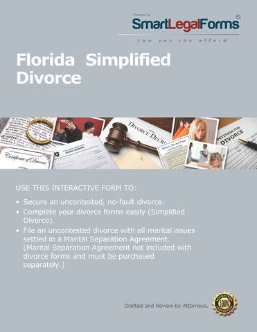 Florida Simplified Divorce - SmartLegalForms
