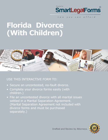 Florida Divorce Forms With Children - SmartLegalForms
