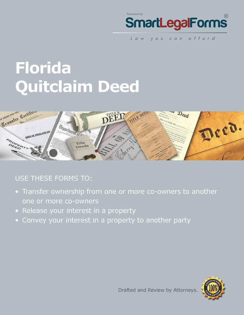 Quitclaim Deed - Florida - SmartLegalForms
