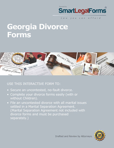 Georgia Divorce Forms - SmartLegalForms
