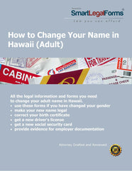 Change Your Name in Hawaii (Adult) - SmartLegalForms