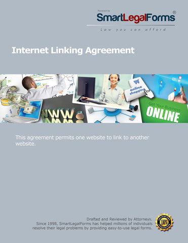 Internet Linking Agreement - SmartLegalForms