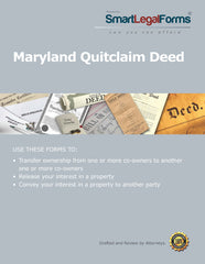 Quitclaim Deed - Maryland - SmartLegalForms