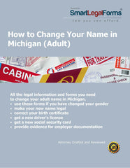 Change Your Name in Michigan (Adult) - SmartLegalForms