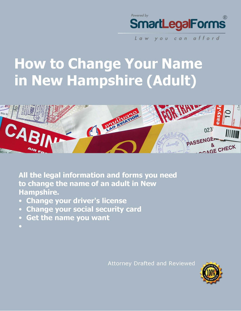 New Hampshire Name Change (Adult) - SmartLegalForms