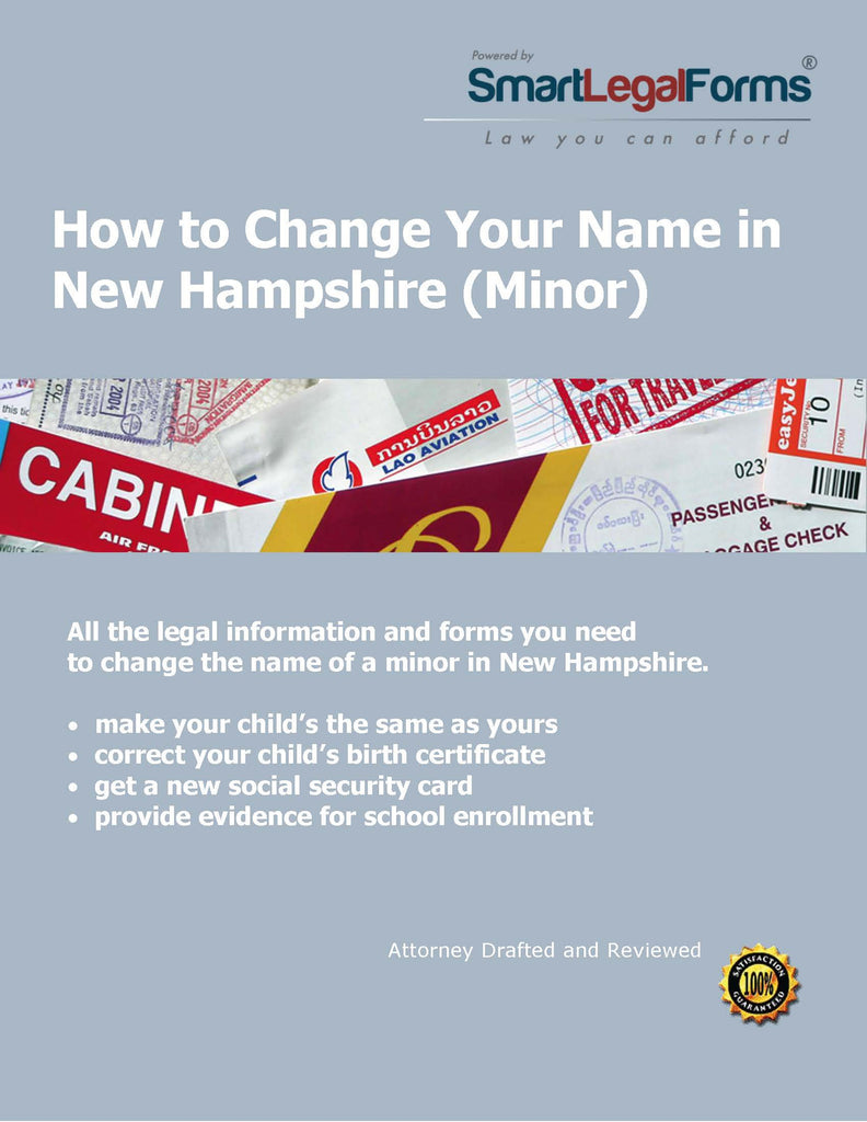 New Hampshire Name Change (Minor) - SmartLegalForms