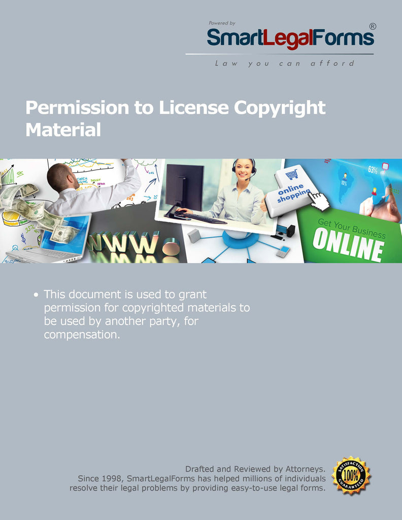 Permission to Use Copyright Material - SmartLegalForms