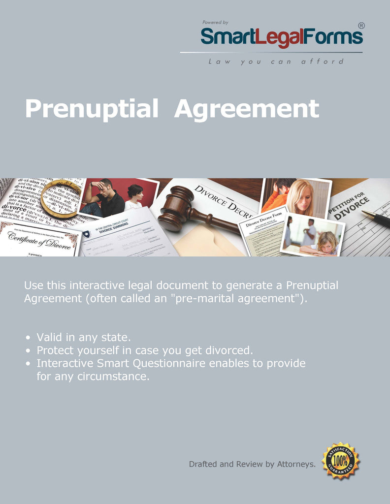 Prenuptial Agreement Smartlegalforms