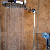 PULSE ShowerSpas Chrome Shower System - Aqua Rain ShowerSpa
