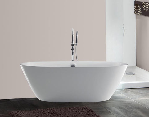 Christopher 71-inch Acrylic Bathtub