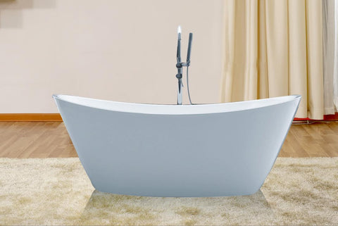 Beautiful 67-inch Acrylic Bathtub