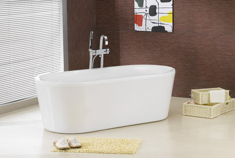 Victoria 68-inch Dual Acrylic Bathtub - Still Waters Bath