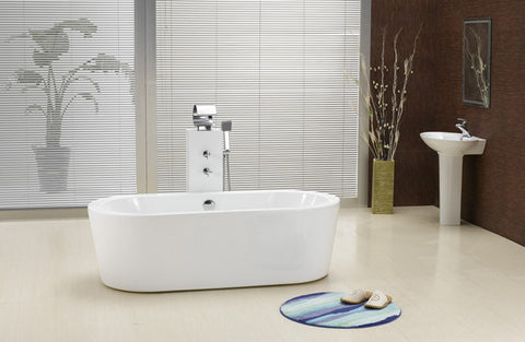 Victor 70-inch Dual Acrylic Bathtub - Still Waters Bath - 1