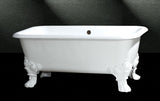"Bear 60"" Cast Iron Dual Bathtub"