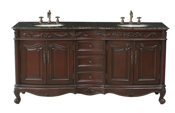 Saturn 72-inch Double Sink Vanity - Still Waters Bath - 1