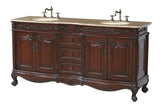 Saturn 72-inch Double Sink Vanity - Still Waters Bath - 4