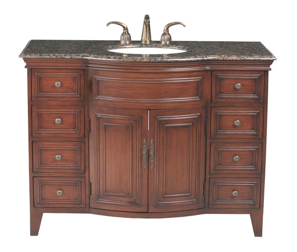 Yorktown 48-inch Single Sink Vanity - Still Waters Bath - 1