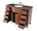 Yorktown 48-inch Single Sink Vanity - Still Waters Bath - 3