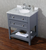 Marla 30-inch Single Sink Bathroom Vanity with Mirror - Still Waters Bath - 3