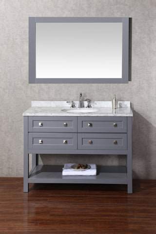 Marla 48-inch Single Sink Bathroom Vanity with Mirror - Still Waters Bath - 1