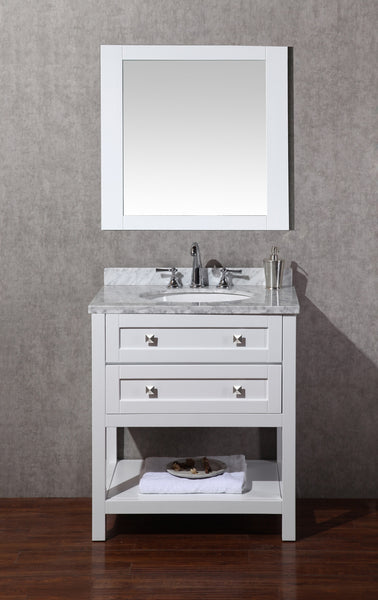 Marla 30-inch Single Sink Bathroom Vanity with Mirror - Still Waters Bath - 4